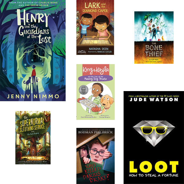 Literature Circles: Mysteries, Capers and Secrets: A Junior Collection: